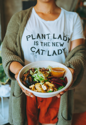 PLANT LADY IS THE NEW CAT LADY (Organic)