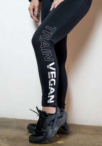 PRO FIT LEGGINGS - TRAIN VEGAN (Women's)