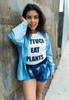 LETTUCE EAT PLANTS (White Unisex Tee)
