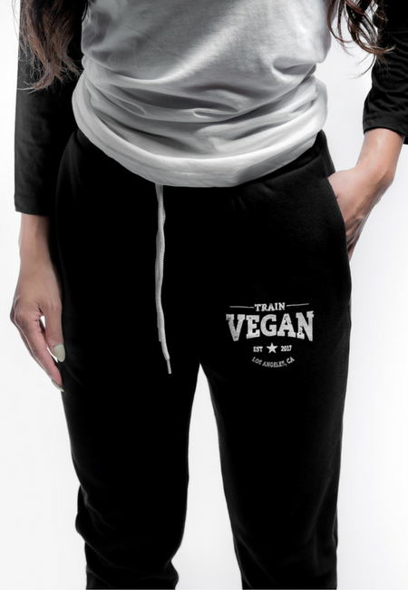 Load image into Gallery viewer, JOGGERS - TRAIN VEGAN (Unisex)