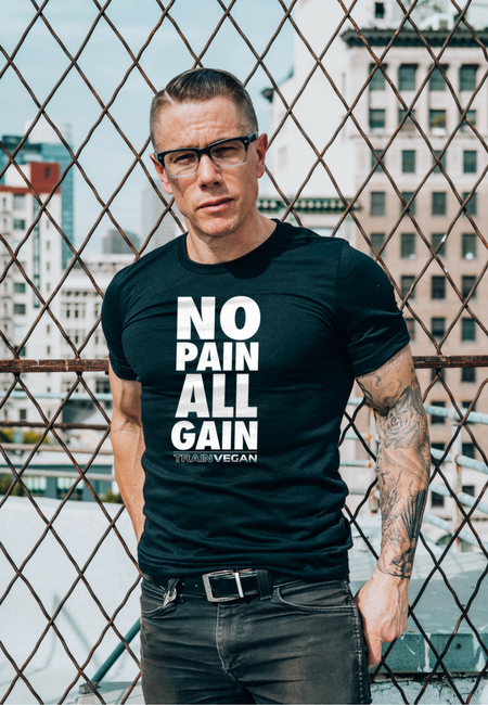 Load image into Gallery viewer, NO PAIN ALL GAIN - TRAIN VEGAN