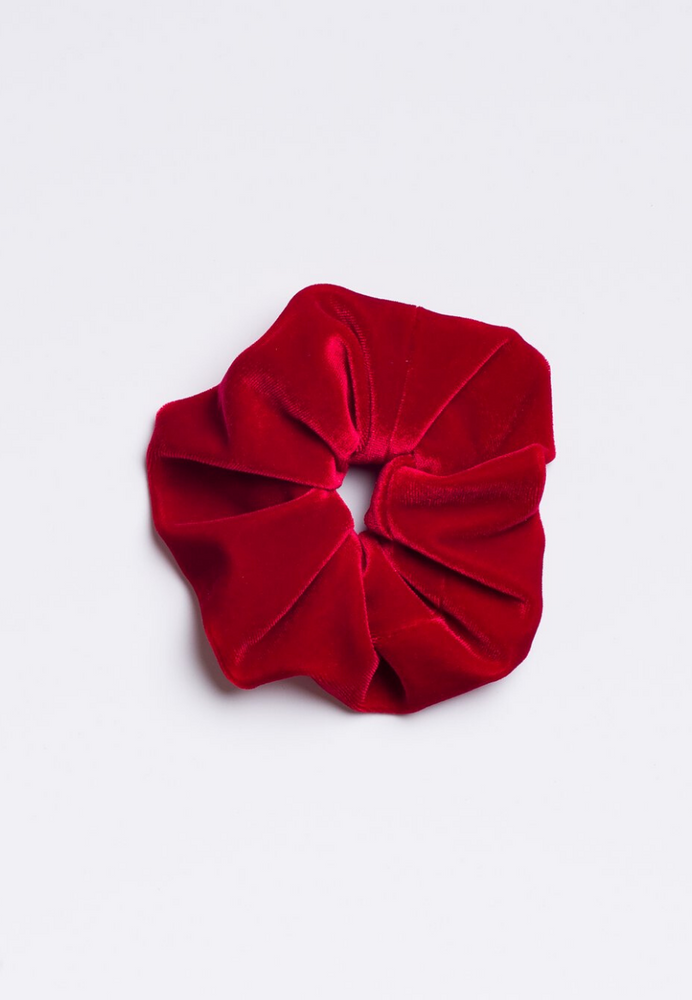 Load image into Gallery viewer, Cherry Red Scrunchie