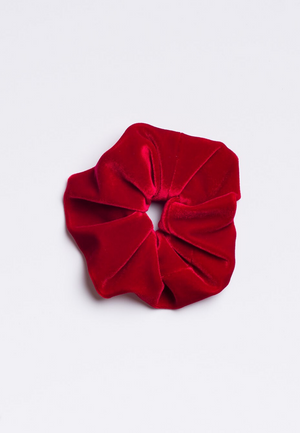 Cherry Red Scrunchie