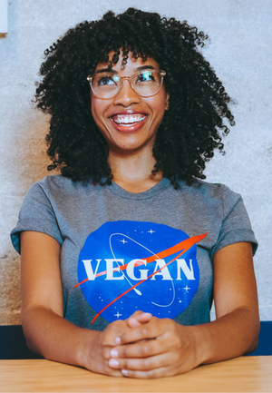 VEGAN NASA by @basicveganbitch