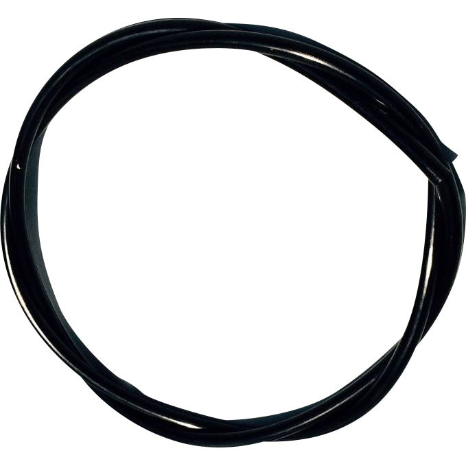 "Connectors And Accessories - Black Polyethylene Tubing, 0.25""ID X 0.375""OD"