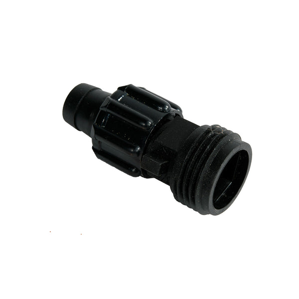 Drip Tape to Male Hose Thread Connector