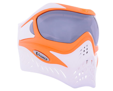 V-Force Grill Paintball Mask - SE Orange/White