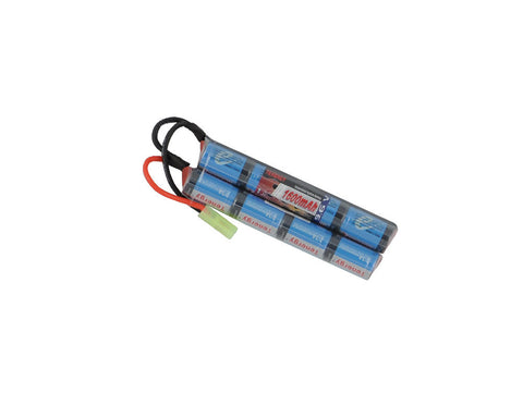 Tenergy 9.6V 1600mAh Butterfly Mini NiMH Battery Pack w/ Mini Tamiya Connector