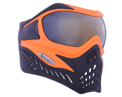 V-Force Grill Paintball Mask - SE Orange/Black