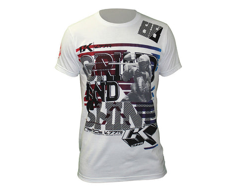 Contract Killer Grind & Shine T-Shirt - White