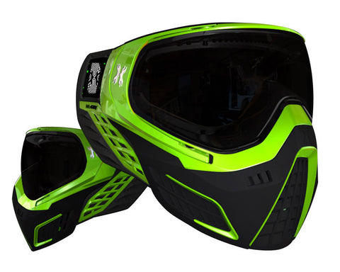 HK Army KLR Paintball Mask - Neon Green