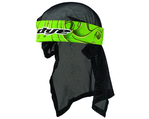 2014 Dye Head Wrap - Slime Green
