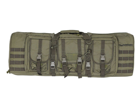 "Valken 42"" Double Rifle Tactical Gun Case - Olive Drab"