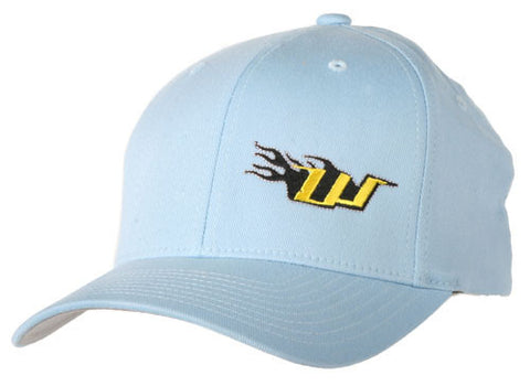 WGP Men's Fitted Flex Fit Hat - Carolina Blue