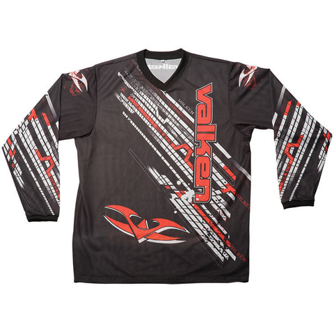 2011 Valken Fate Paintball Jersey - Red