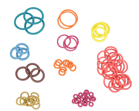ANS Complete Colored O-Ring Kit 3x Rebuild (Bag) - CP Inline Reg
