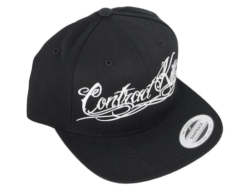Contract Killer Tatwoo Snap Back Hat - Black