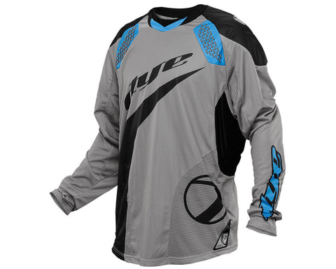 2014 Dye C14 Paintball Jersey - Ace Grey/Blue