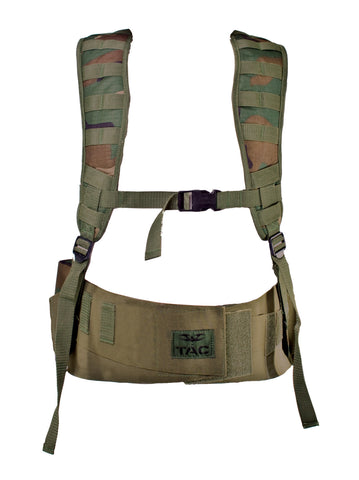 Valken V-Tac Echo Paintball Vest - Woodland