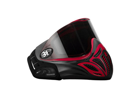 2009 Empire E-Vents Paintball Mask - Red