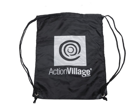 AVI Draw String Bag - Black
