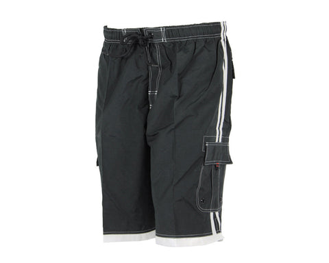 Smart Parts Surf Shorts - Black