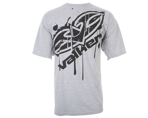 Valken Paintball Dripped Up T-Shirt - Heather Grey
