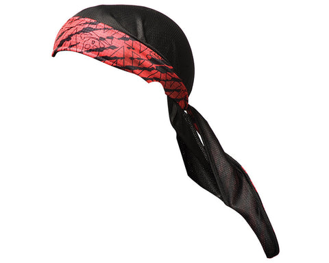 2013 Valken Redemption Paintball Headwrap - Red Scar