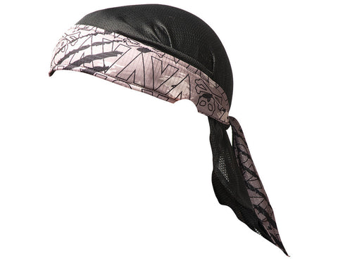 2013 Valken Redemption Paintball Headwrap - Grey Scar