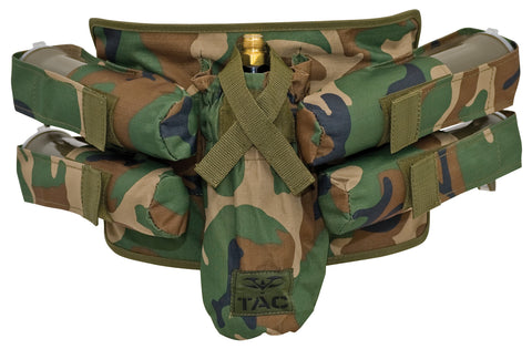 Valken V-Tac Paintball Harness 4+1 - Woodland