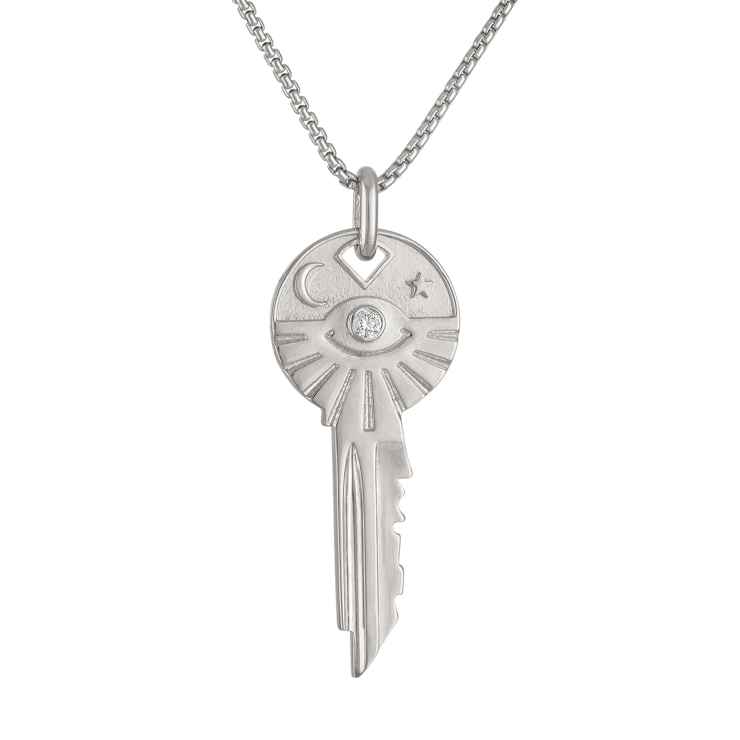Cosmos Key Necklace