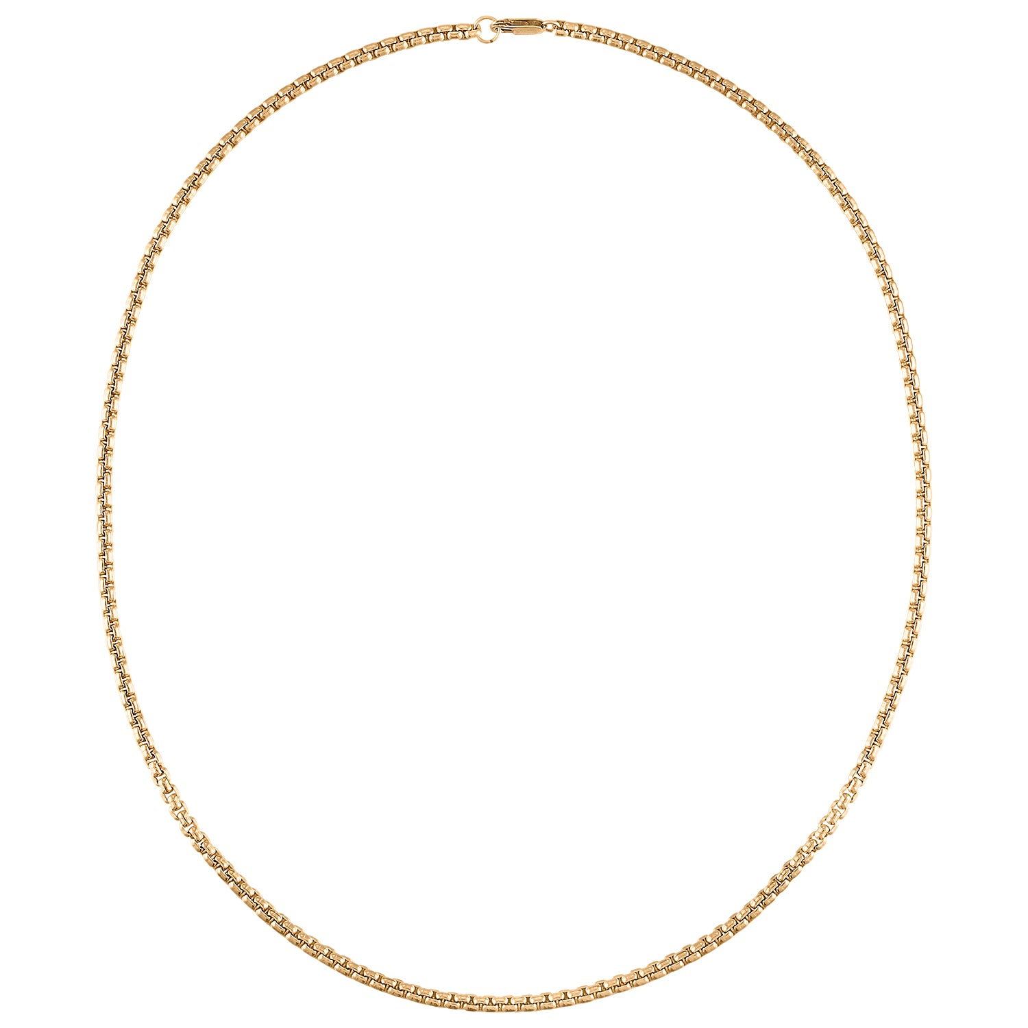 "22"" Thick 18K Gold Filled Chain"