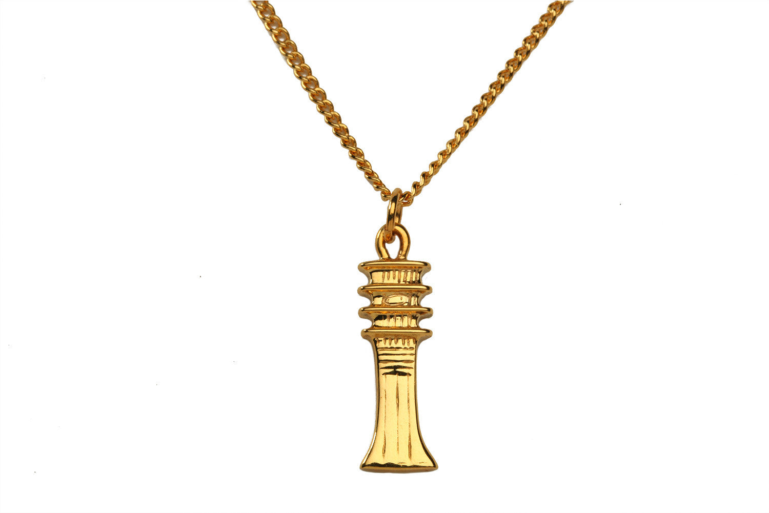 Djed Pillar Necklace