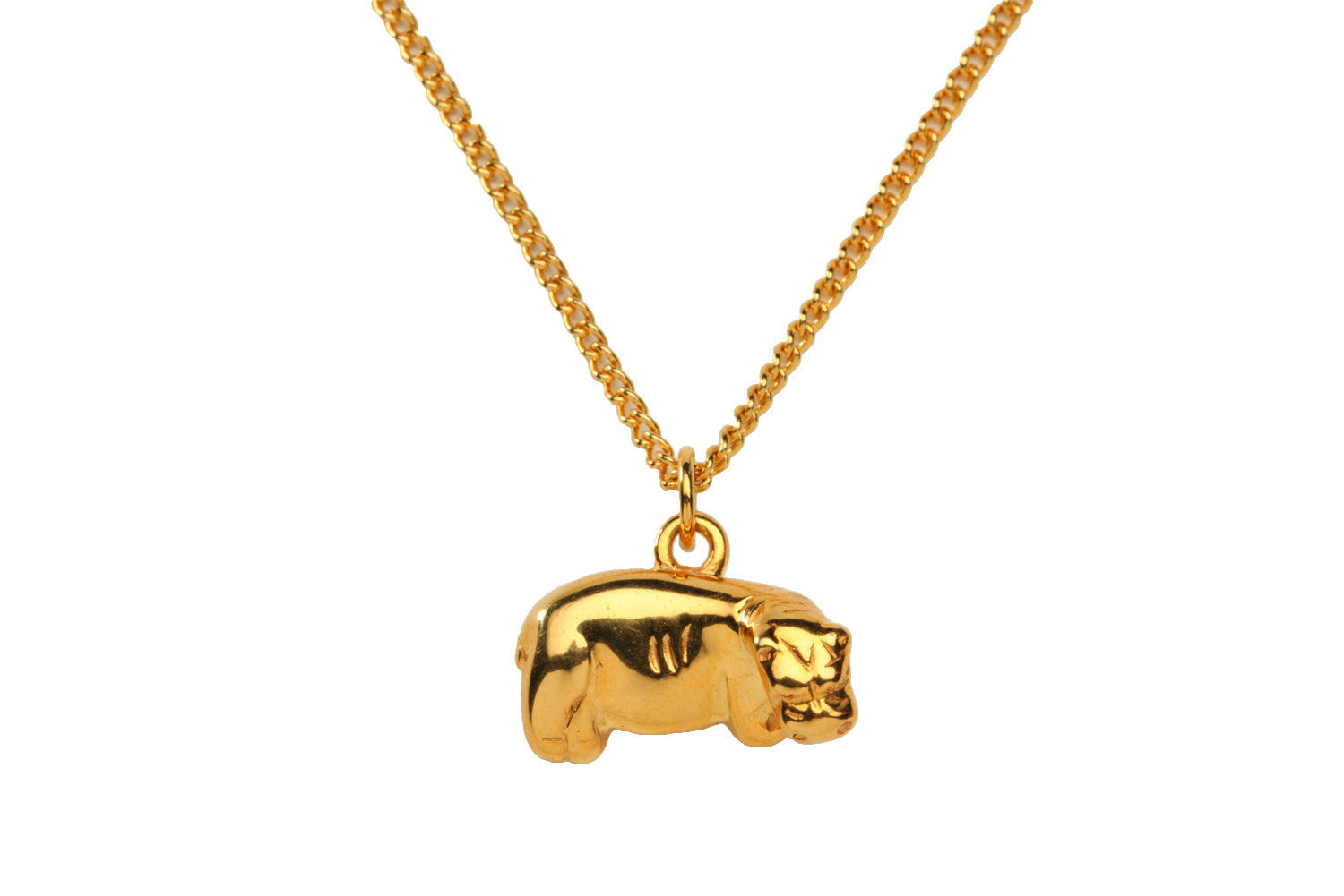 Hippopotamus Necklace