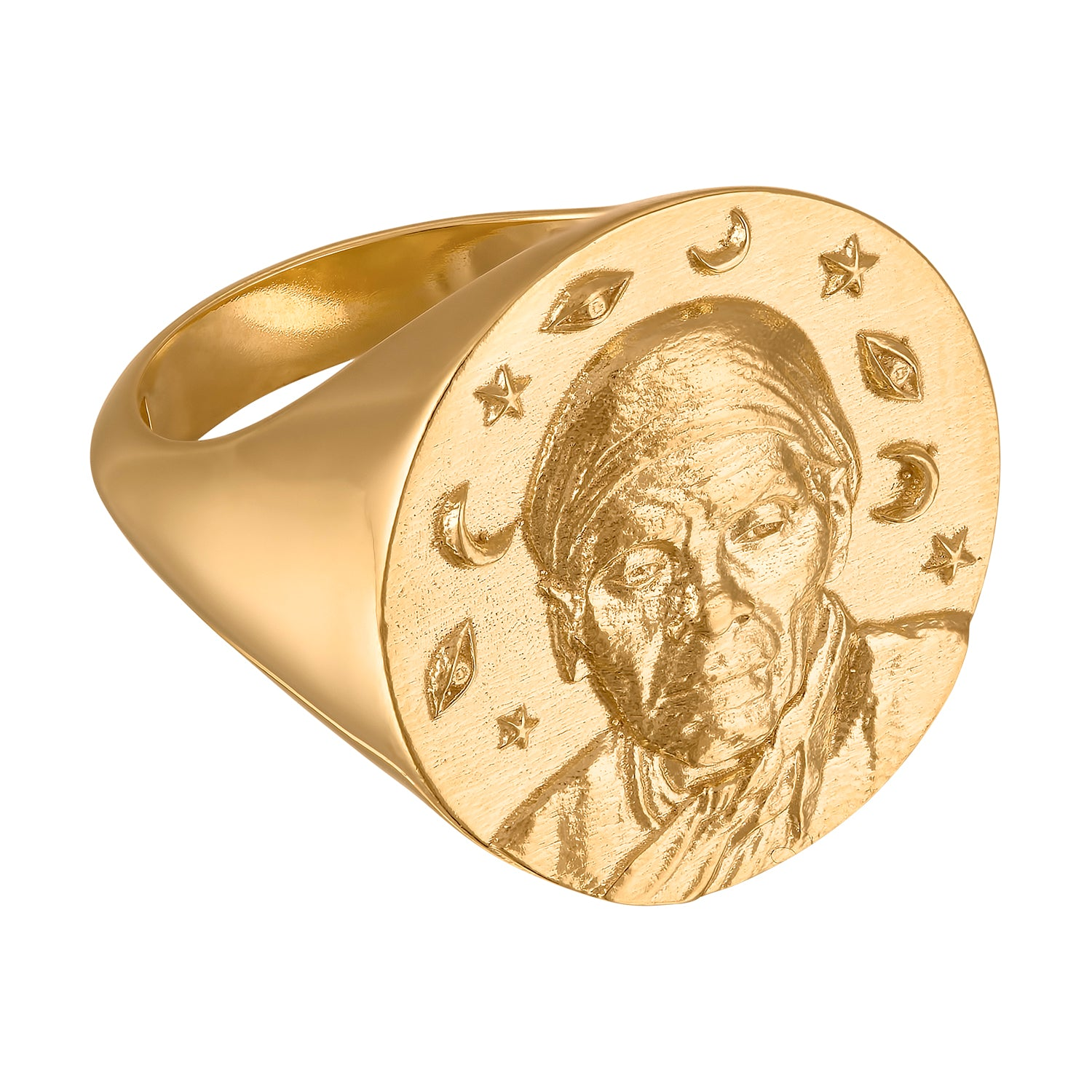 Harriet Tubman Large Signet Ring