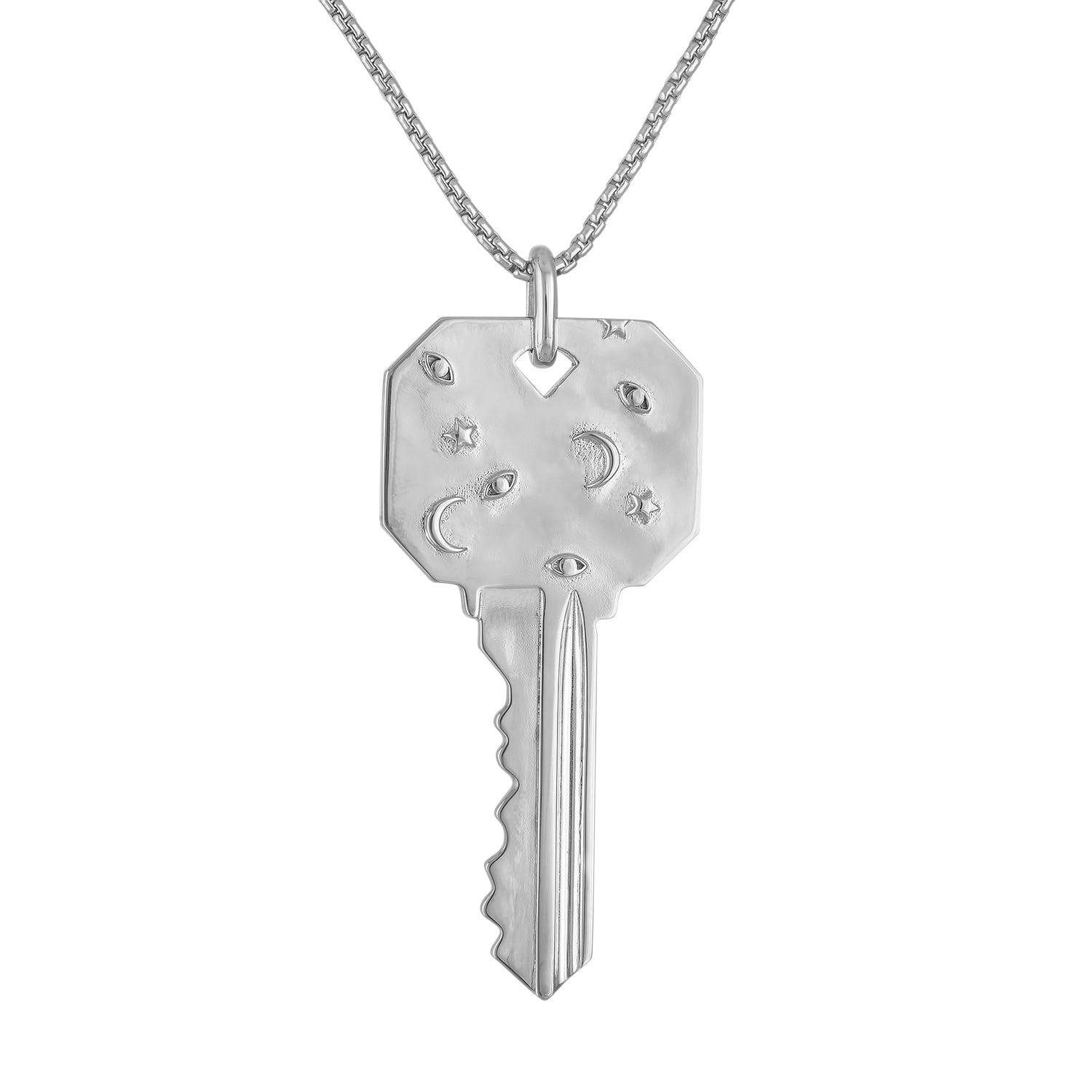 Large Cosmos Key Necklace