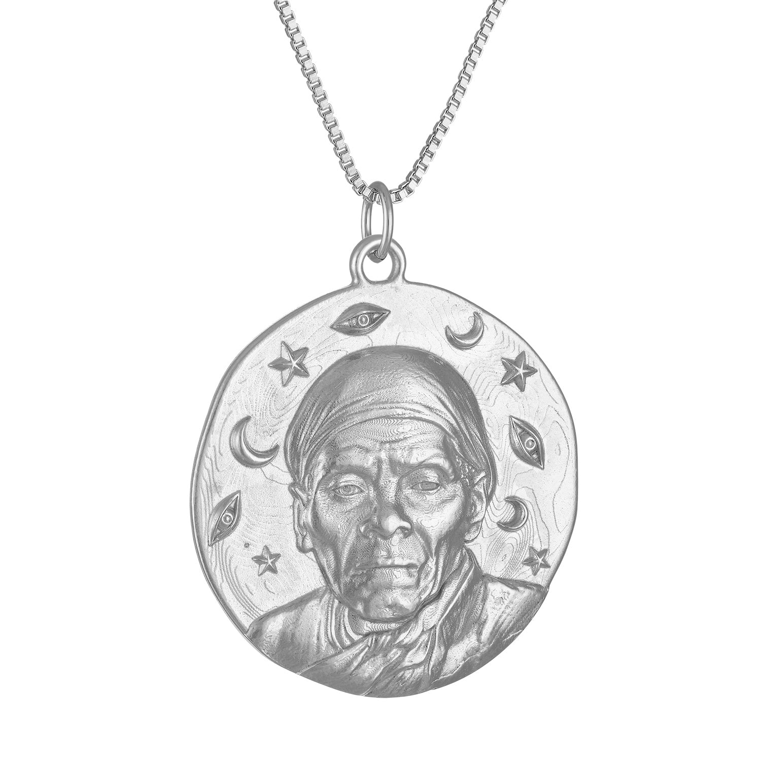 Harriet Tubman Round Medallion