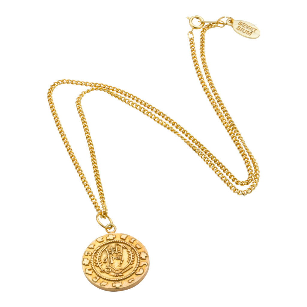 Axum coin pendant necklace sewit sium axum coin pendant necklace mozeypictures Images