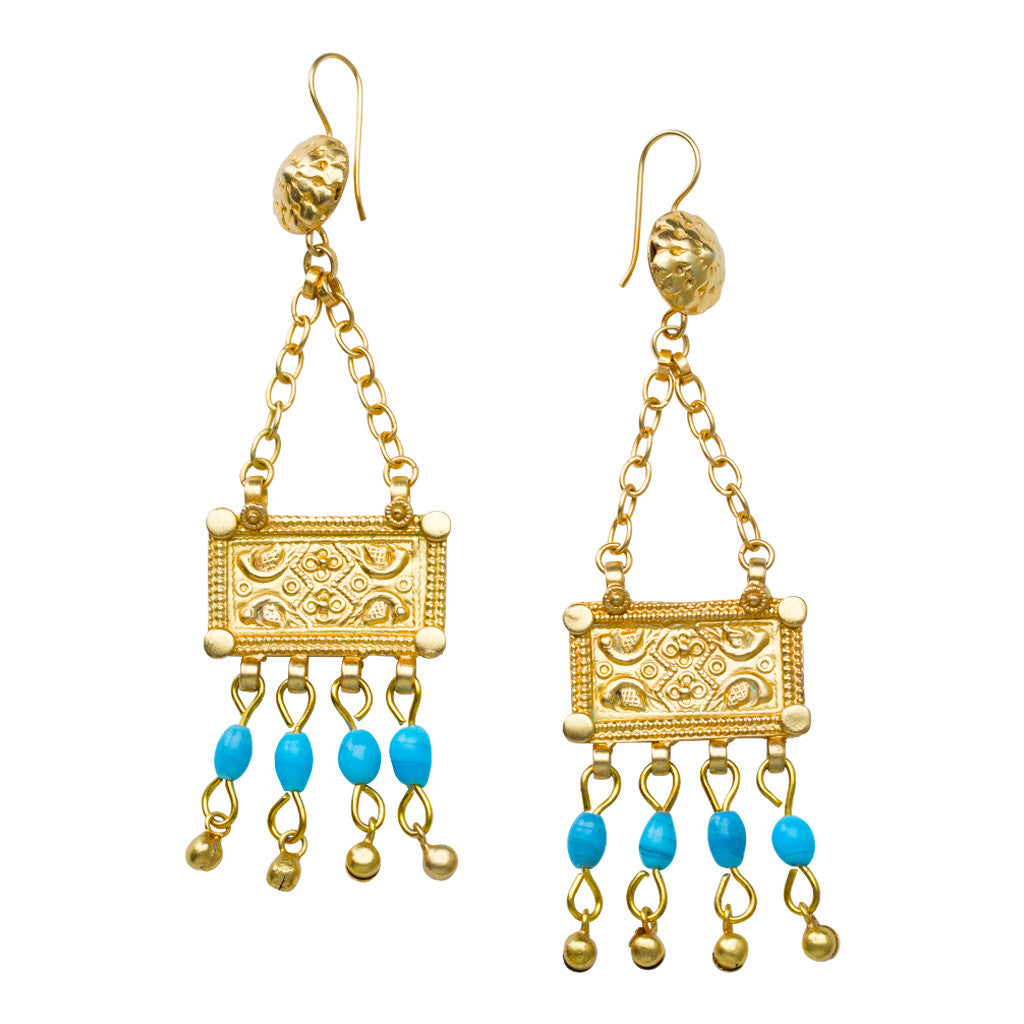 Hagosa Turquoise Earrings