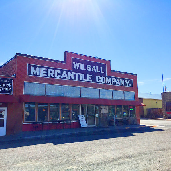 Wilsall Mercantile Company building in Montana