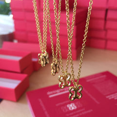 Design hype custom necklaces in stainless steel, 18k gold and various colors