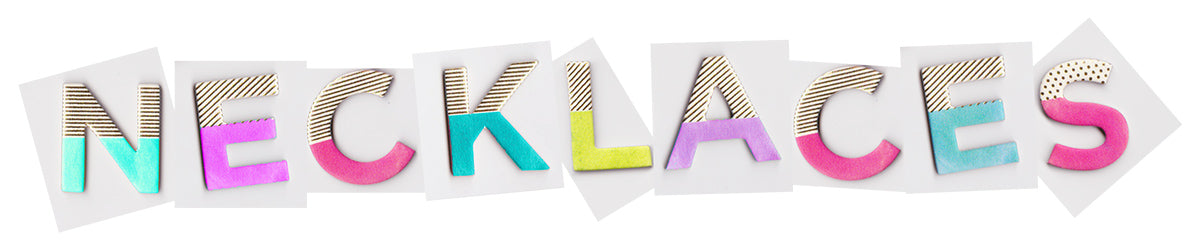 Designhype necklaces collection banner