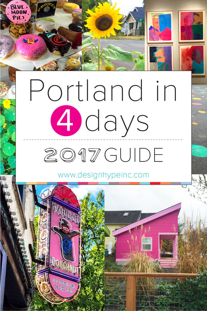 Portland in 4 Days - 2017 Travel Guide by Designhype