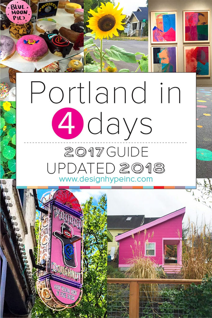 Portland in 4 days Travel Guide 2018 by Designhype
