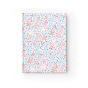 New York City Landmarks - Blank Journal - Designhype - City Inspired Accessories