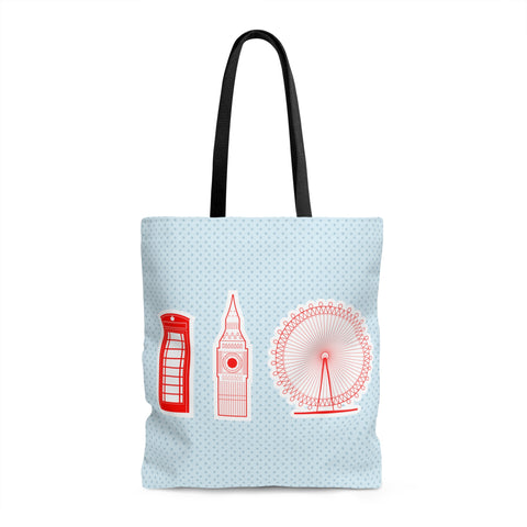 London Landmarks Tote Bag