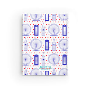 London Landmarks - Blank Journal - Designhype - City Inspired Accessories