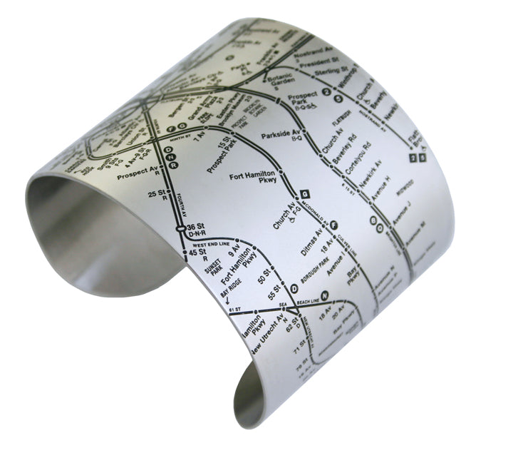 Brooklyn Map Bracelets - Designhype - City Inspired Accessories