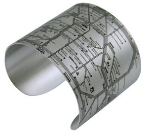 Berlin Map Cuff Bracelet - Designhype - City Inspired Accessories