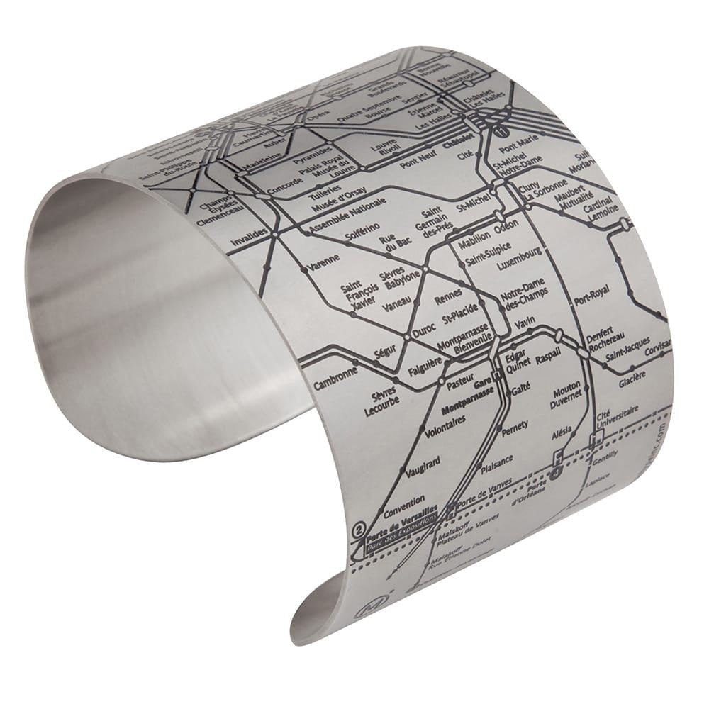 Paris Metro Cuffs - All Styles - Designhype - City Inspired Accessories